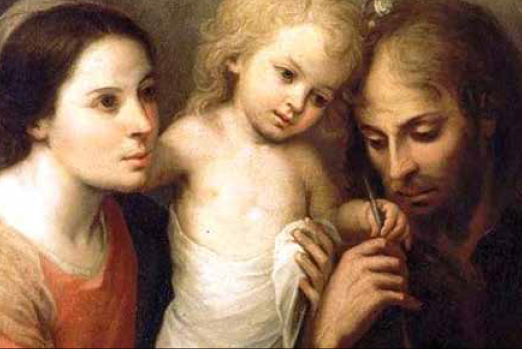 an Image of the Holy Family